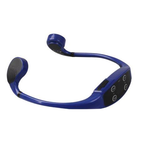 Przewodnictwo kostne słuchawki, walkie-talkie do treningu 1+1