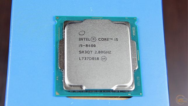Процессор intel core i5-8400, 1151, DDR4, боксовый куллер