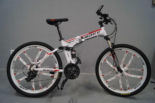 Складной Велосипед Make Bike ПРЯМЫЕ ИМПОРТЁРЫ На Литых Дисках