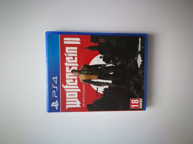 Wolfenstein II 2 the New colossus ps4 ps5