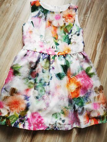Sukienka dziewczęca 140