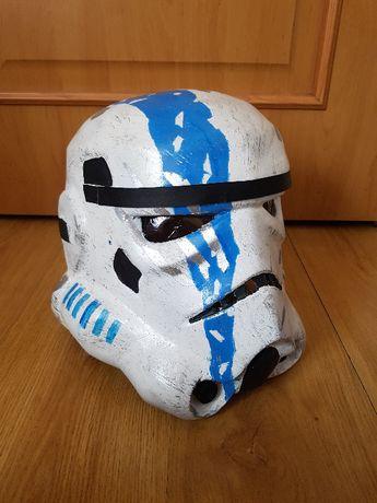 hełm star wars szturmowiec, stormtrooper commander helmet, cosplay