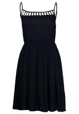 Nowa czarna zwiewna sukienka koktajlowa czarna Eve&Odd roz L n prezent