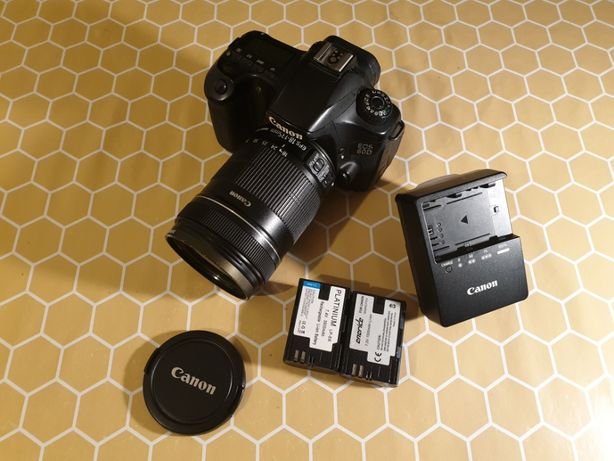 Aparat Canon 60D + obiektyw 18-135 f/ 3.5-5.6 IS + filtr UV