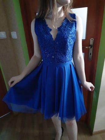 Sukienka chabrowa rozmiar S