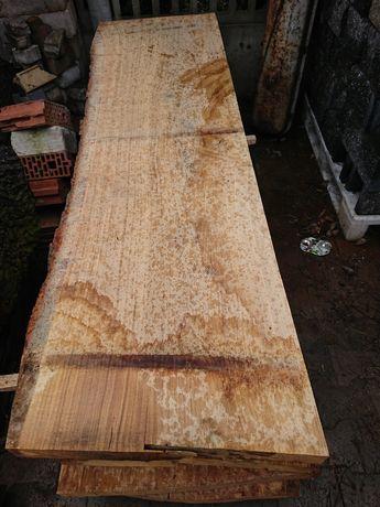 Deski dębowe 7cm monolit