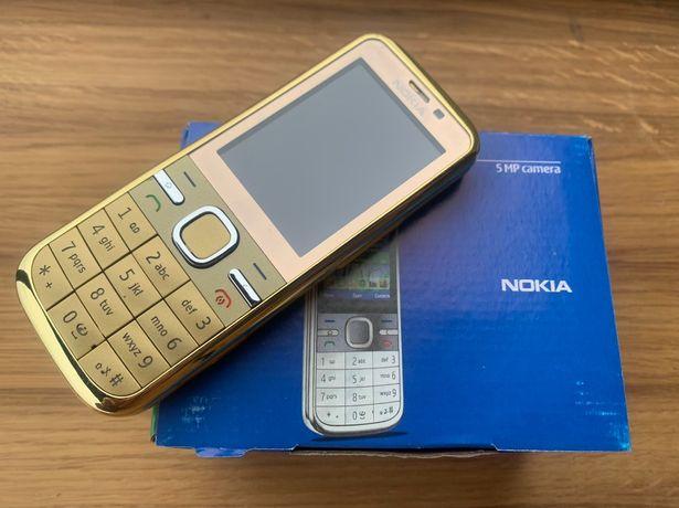 Мобильный телефон Nokia C5 - 00 Gold (новый оригинал)