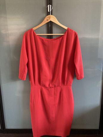 Czerwona sukienka M