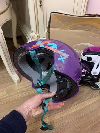 Шлем для роликов K2 Jr Varsity на обхват 48-54 см в НОВОМ состоянии