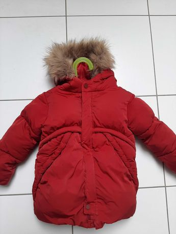 Kurtka Zara 3-4 lata 104cm cieplutka bdb