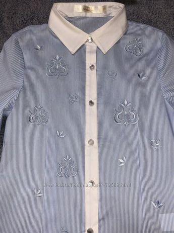 Рубашка, блузка в полосочку Dolores, 500 руб.