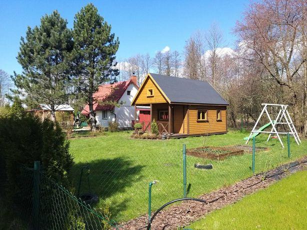 Działka ROD GRANICA 300m kw z domkiem przy lesie