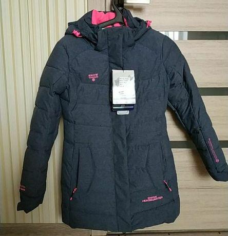 Очень теплая курточка пуховик snow headquarter с мембраной