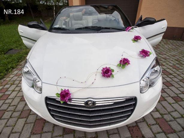 Piękna dekoracja na samochód/ozdoba/auto/ślub/wesele