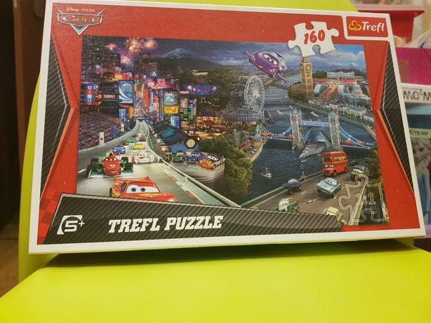 Puzzle Trefl. 160 sztuk. Auta.