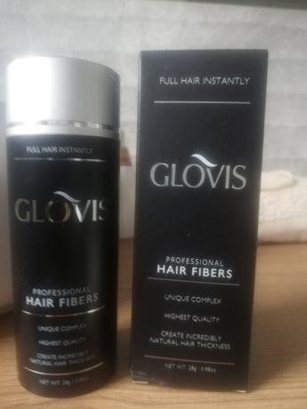 Glovis-Mikrowłókna kreatynowe, zagęszczanie włosów