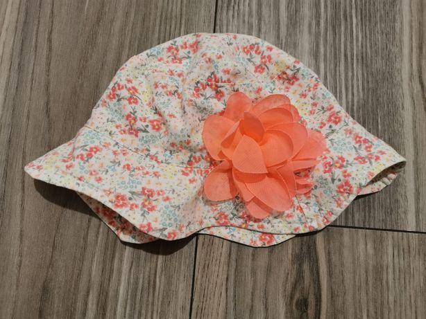 Kapelusz kapelusik lato dla dziewczynki kwiat słońce 74 80