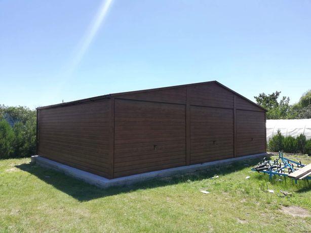 Garaż blaszany drewno podobny premium 9x6 6x6 6x7 3x6 4x6 6x5 6x5.80