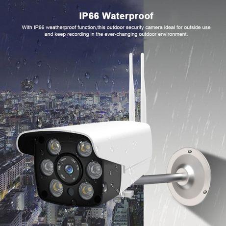 Camera Video Vigilancia Prova d Agua WIFI 1080P Visao Noturna ONVIF