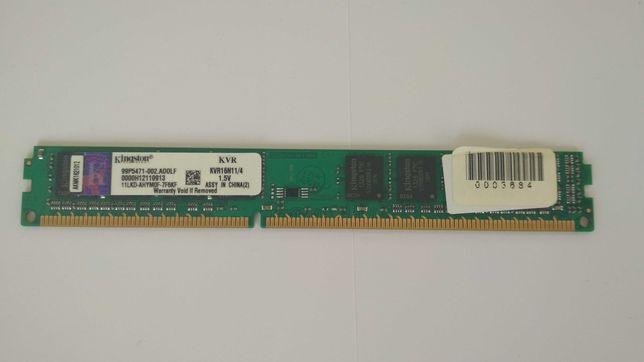 Память ОЗУ KINGSTON DDR3 4GB 1600Mhz
