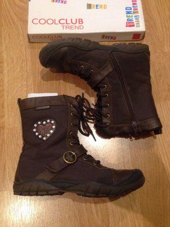 Сапоги ботинки для девочки Cool Club Zara р.35 утеплены