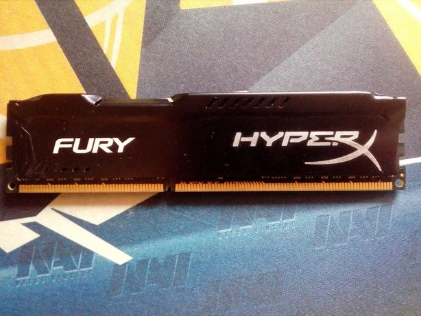 Kingston HyperX Fury OC DDR3 1866Mhz 8Gb Black