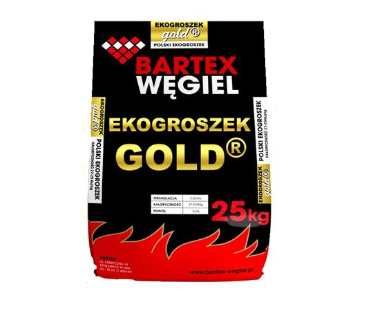 Ekogroszek Gold Bartex 27-29 MJ/kg oryginalny, workowany