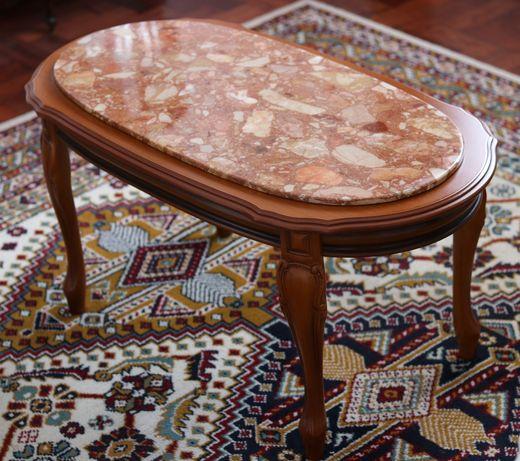 Mesa de centro estilo Luís XV