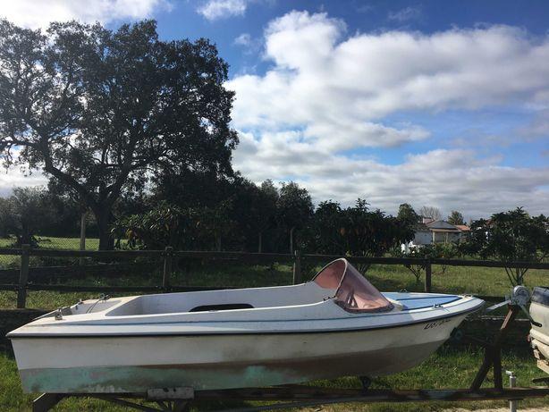 Barco recreio/pesca com volante