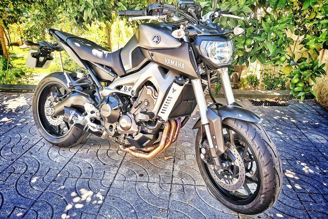 Yamaha MT 09 9450km