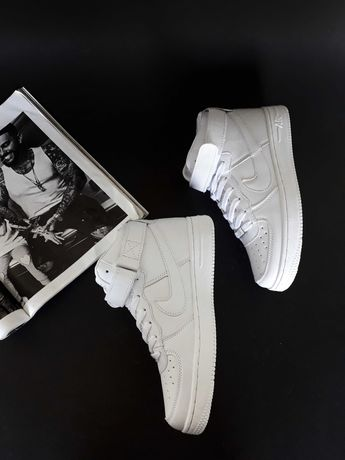 ХИТ ПРОДАЖ!!! Кроссовки белые Nike Air Force High White
