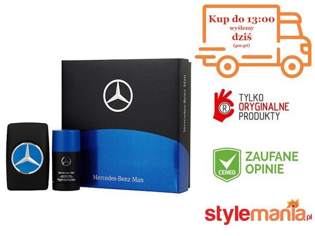 MERCEDES-BENZ MAN ZESTAW 100 ml EDT + 75g Dezodorant w sztyfcie