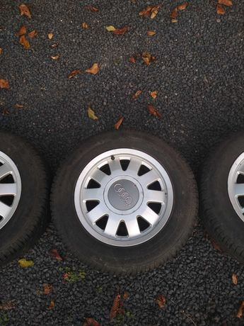 Alufelgi z oponami zimowymi R15 5x112 Audi, VW, Skoda