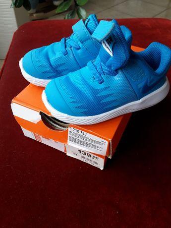 Niebieskie wiosenne buty dla chłopca