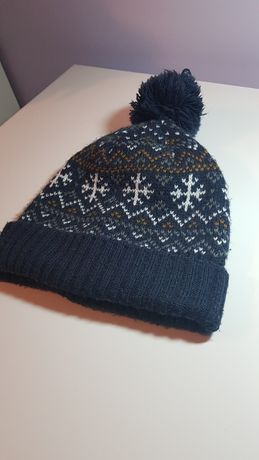 Ciepła czapka dla chłopca H&M 110-128