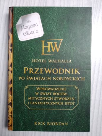 Hotel Walhalla. Przewodnik po światach nordyckich - Rick Riordan