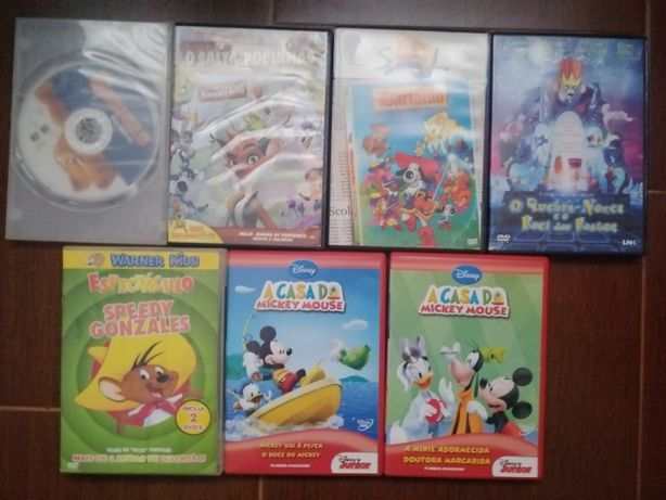 DVD para crianças: filmes infantis em português