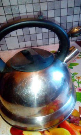 Чайник з нержавійки