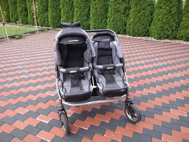 Wózek dziecięcy bliźniaczy 3w1 tako