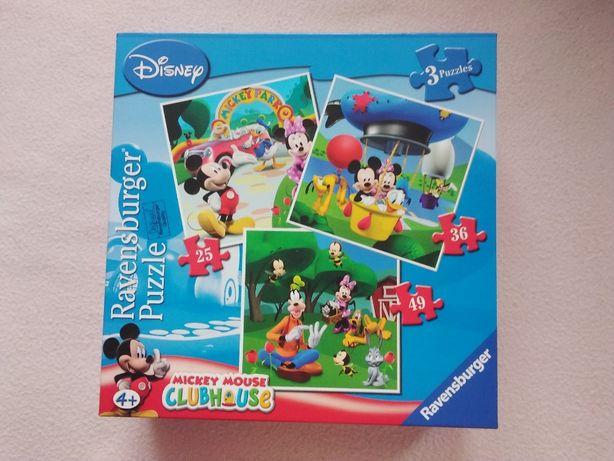 Sprzedam puzzle dla dziecka - znane i lubiane bajki