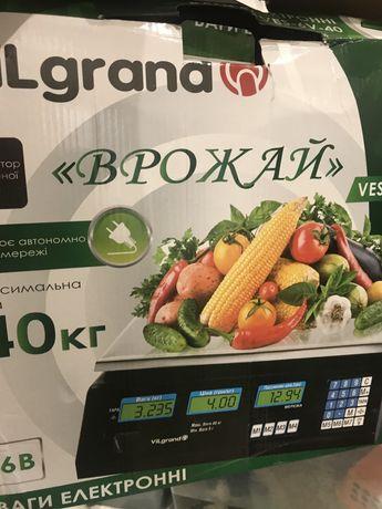 Весы электронные для фруктов и овощей