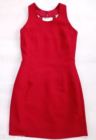 Красное вечернее платье. Мини.