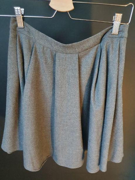 Spódnica rozkloszowana szara Mohito S