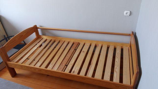 Łóżko drewniane sosnowe 190x 90