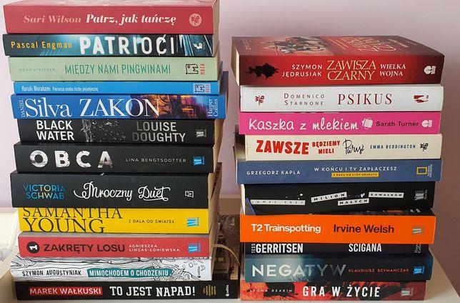 Sprzedam książki ze zdjęcia