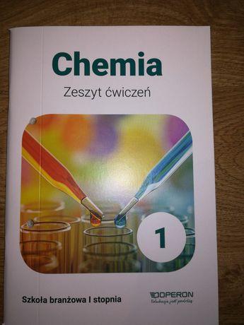 Chemia 1 Zeszyt ćwiczeń Operon szkoła branżowa I stopnia