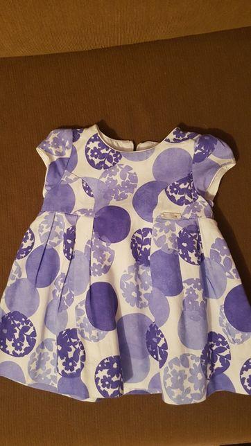 MAYORAL Niebieska sukienka rozmiar 68