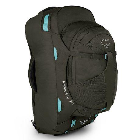 Nowy plecak torba OSPREY Fairview 70 Misty Grey Small/Medium (S/M)