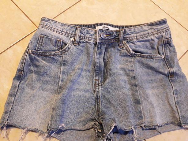 Sinsay spodenki jeans S