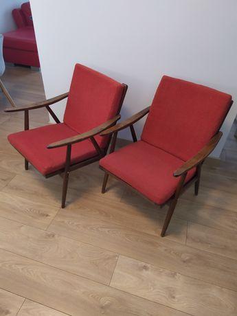 Fotel PRL lisek 2 szt niepowtarzalne